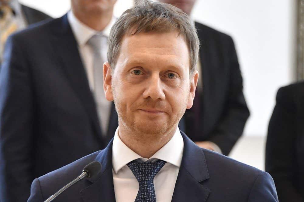 Ministerpräsident Michael Kretschmer (CDU). Archivfoto: Matthias Rietschel