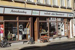 Das Krimzkrams in der Georg-Schwarz-Straße. Foto: Frank Willberg