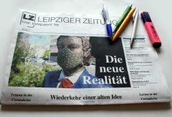 Leipziger Zeitung Nr. 78: Die neue Realität. Foto: L-IZ
