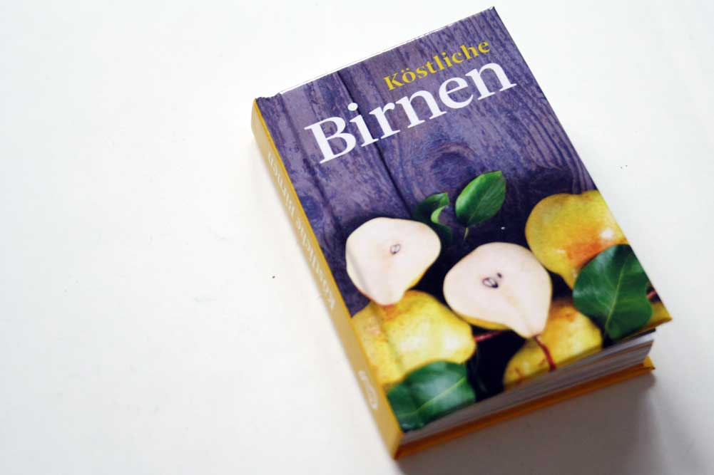Heike Mohr: Köstliche Birnen. Foto: Ralf Julke