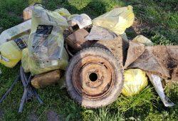 Ein Müllberg aus der vergangenen Woche. Foto: Chris Daiser