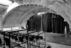 Das Ost-Passage Theater ohne Publikum. Foto: Ost-Passage Theater