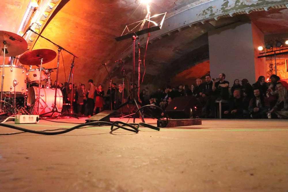 Das Ost-Passage Theater mit Publikum. Foto: Ost-Passage Theater