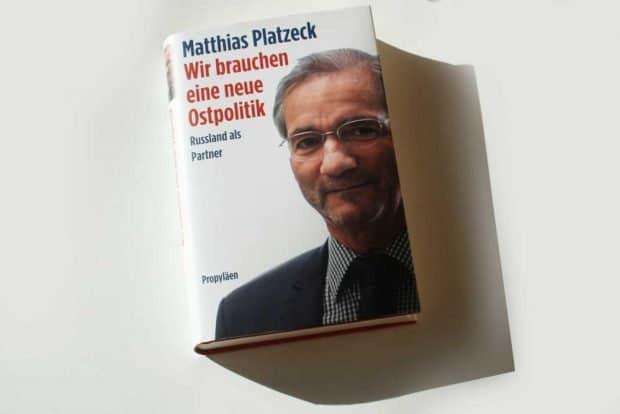Matthias Platzeck: Wir brauchen eine neue Ostpolitik. Foto: Ralf Julke