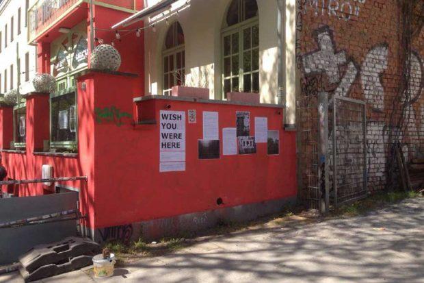 Schaubühne Lindenfels. Collage: Clementine Harpages