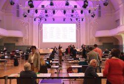 Der Stadtrat tagt - mindestens im April und Mai 2020 in der Kongresshalle Leipzig. Foto: L-IZ.de