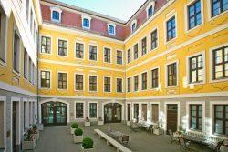Innenhof Bach-Museum. Quelle: Bach-Archiv Leipzig