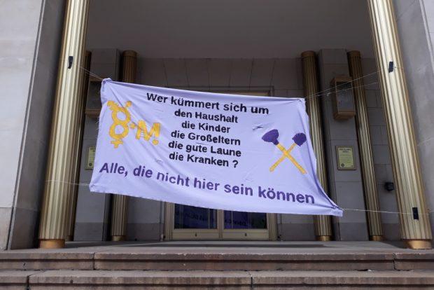 Kundgebung auf dem Augustusplatz. Foto: René Loch