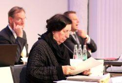 Die Baudezernentin Dorothee Dubrau (Parteilos) bei einer ihrer letzten Ratsversammlungen. Foto: L-IZ.de
