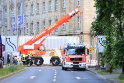 Ein Einsatz dieses Mal ohne Evakuierung von immerhin 18.000 Menschen. Foto: L-IZ.de
