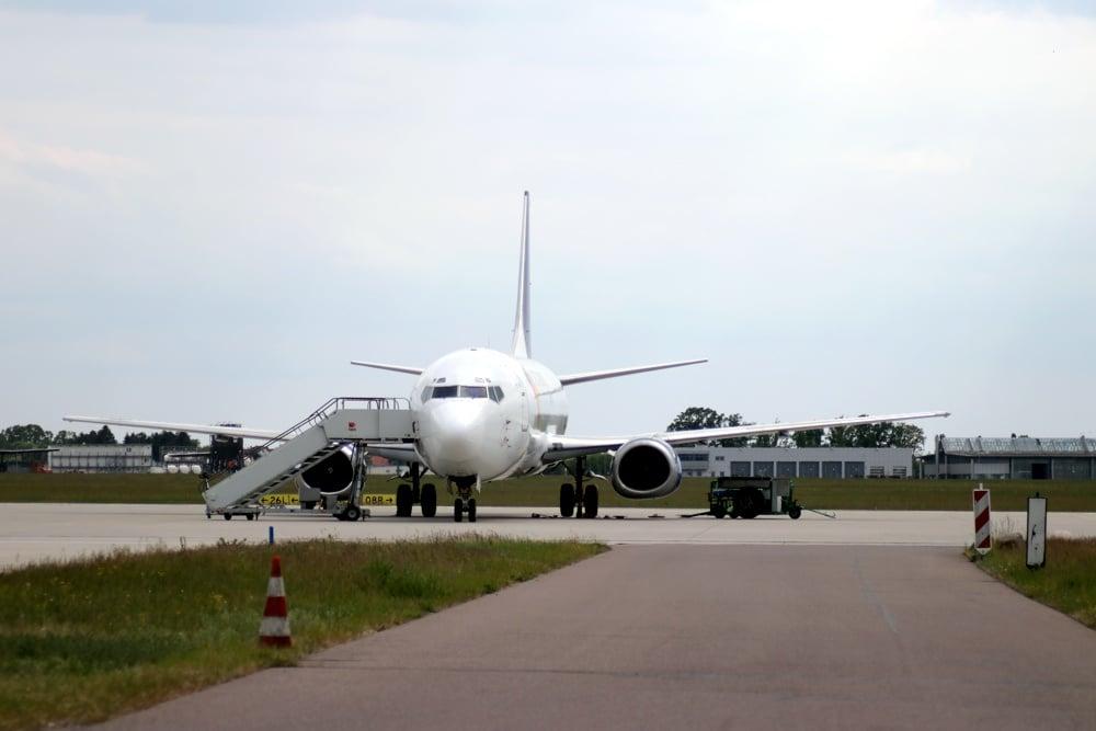 Flughafen Leipzig. Foto: L-IZ.de