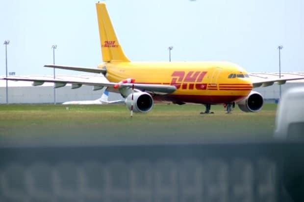 Die DHL am Flughafen Leipzig. Foto: L-IZ.de