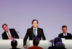 Stadtrat Jürgen Kasek (B 90/Die Grünen) am 20. Mai 2020 in der Kongresshalle zur Ratsversammlung. Foto: L-IZ.de