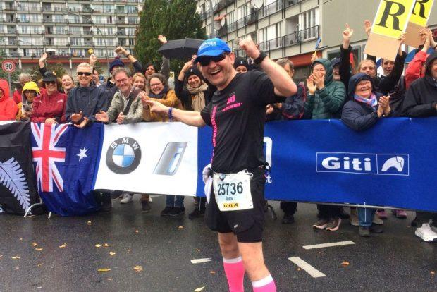 Innerhalb von sechs Jahren sammelte Körner über 100 Marathondistanzen. Foto: privat
