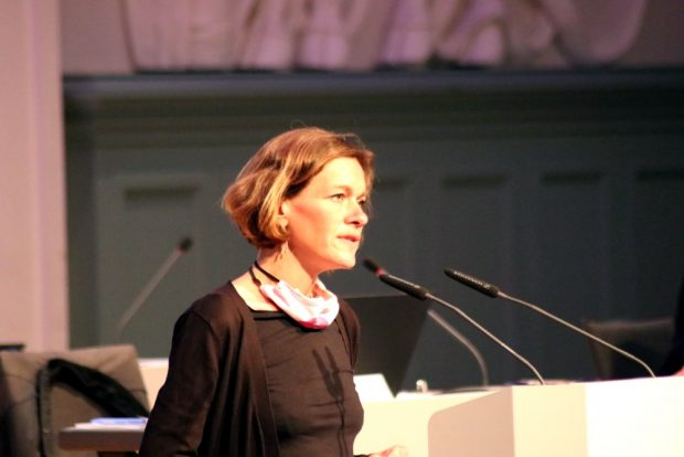 Juliane Nagel (Linke) forderte eine offizielle Verurteilung der Stadt Leipzig zu den Nutzern der Kamenzer Straße. Foto: L-IZ.de
