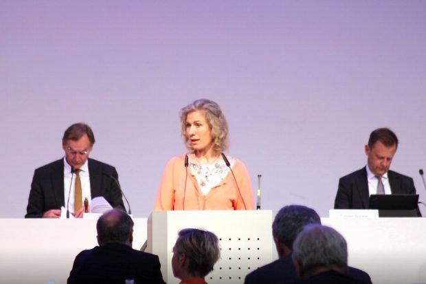 Bündnis 90/ Die Grünen-Stadträtin Katharina Krefft am 20. Mai zum Thema Connewitz im Stadtrat. Foto: L-IZ.de