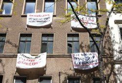 """Eine """"Hausbesetzung"""" in der Ludwigstraße. Foto: L-IZ.de"""