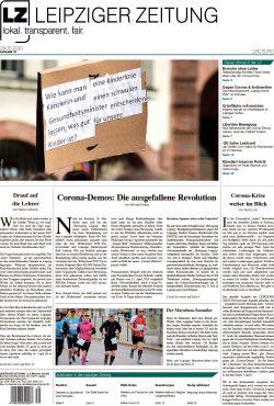 Das Titelblatt der Leipziger Zeitung, Ausgabe 79. Foto: L-IZ.de