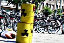 Anti-Atom(müll)protest in Leipzig. Archivfoto: Ralf Julke