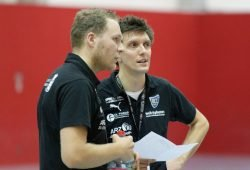 Fabian Kunze und Jacob Dietrich. Quelle: HC Leipzig e.V.
