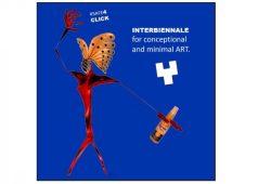 Interbiennale for conceptional and minimal art. Grafik: Visit. e.V.
