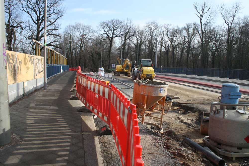 Die Plagwitzer Brücke im Januar 2020. Foto: Ralf Julke
