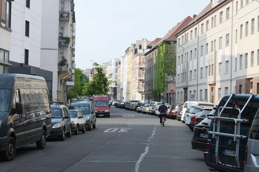 Die Kochstraße südlich der Richard-Lehmann-Straße. Foto: Ralf Julke