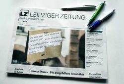 Leipziger Zeitung Nr. 79: Liebe in Zeiten von Corona. Foto: Ralf Julke