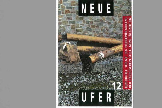 Das letzte Heft: Neue Ufer Nr. 12. Cover: Neue Uferf e.V.