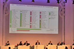 Abstimmungsergebnis zum Antrag der Linksfraktion zur Parkstadt Dösen. Screenshot: L-IZ