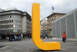Seit 2016 firmiert die Leipziger Gruppe mit dem gelben L. Foto: Ralf Julke