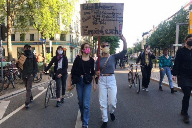 Feministischer Aktionstag am 16. Mai in Leipzig. Foto: L-IZ.de