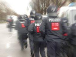 Die Polizei im Einsatz. Symbolfoto: L-IZ.de
