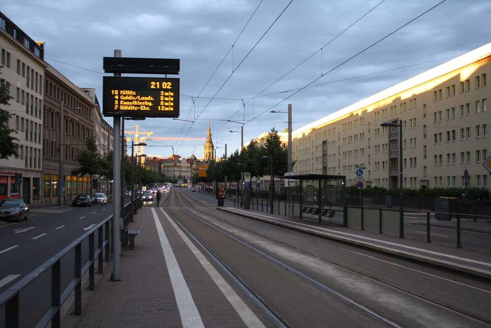 Der Ranstädter Steinweg. Foto: Ralf Julke
