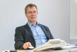 Prof. Dr. Dirk van Laak. Foto: Swen Reichhold / Universität Leipzig