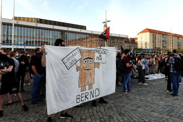 "Björn ""Bernd"" Höcke (AfD) war auch Thema. Foto: Luise Mosig"