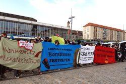 Am 15. Juni 2020 in der Mehrheit: der Gegenprotest. Foto: Luise Mosig