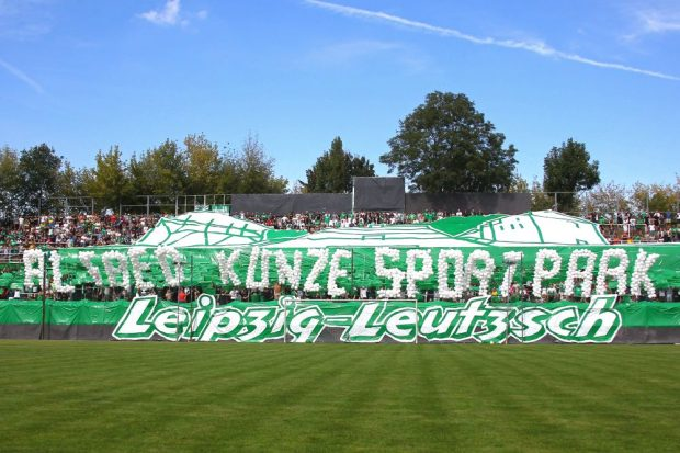 Der Alfred-Kunze-Sportpark feiert sein hundertjähriges Jubiläum. Foto: Jan Kaefer