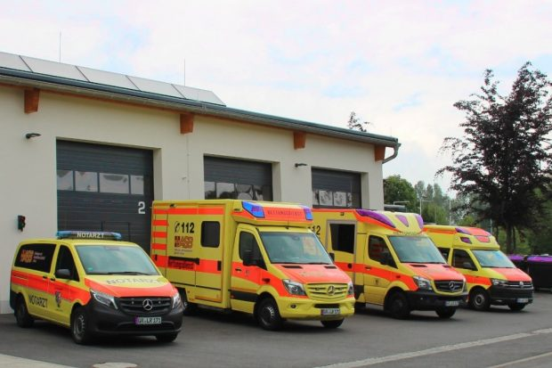 Die Mitarbeiter der ASB-Rettungswache in Löbau erhalten mit einem neuen Tarifvertrag attraktive Arbeitsbedingungen. Foto: ASB Löbau