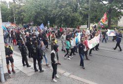 """Demonstration der """"Bewegung Leipzig"""". Foto: René Loch"""