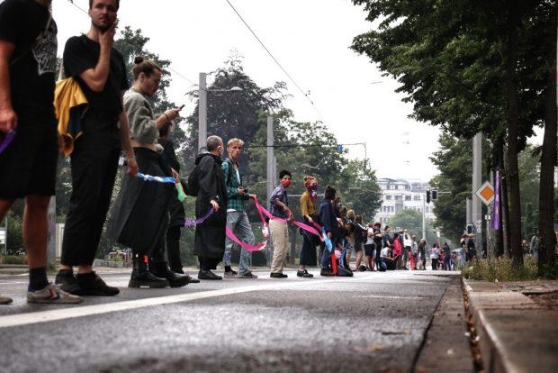 Das Band der Solidarität wächst zwischen Eisenbahnstraße und dem Leipziger Süden. Foto: L-IZ.de