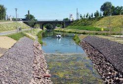 Fortsetzung des Karl-Heine-Kanals zum Lindenauer Hafen. Foto: Marko Hofmann