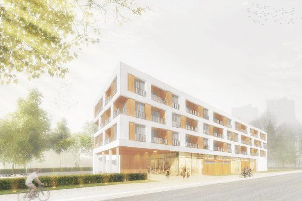 Visualisierung Märchenwiese © Kalkof Architekten