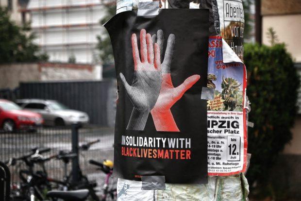 Leipzig im Zeichen der Solidarität. Foto: L-IZ.de