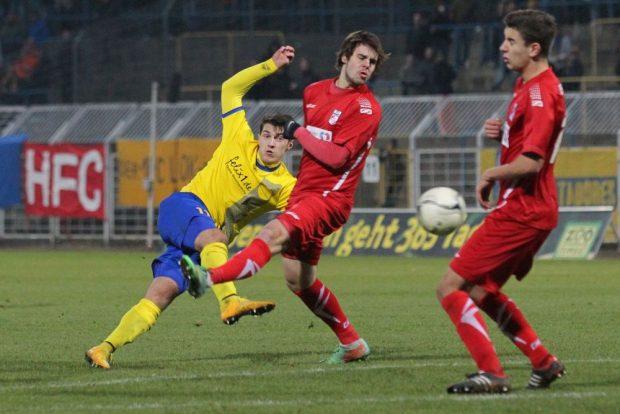 Für Lok erzielte Marzullo in 44 Spielen 16 Tore. Foto: Jan Kaefer (Archiv)