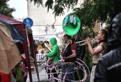 Musik entlang der Strecke ... Foto: L-IZ.de