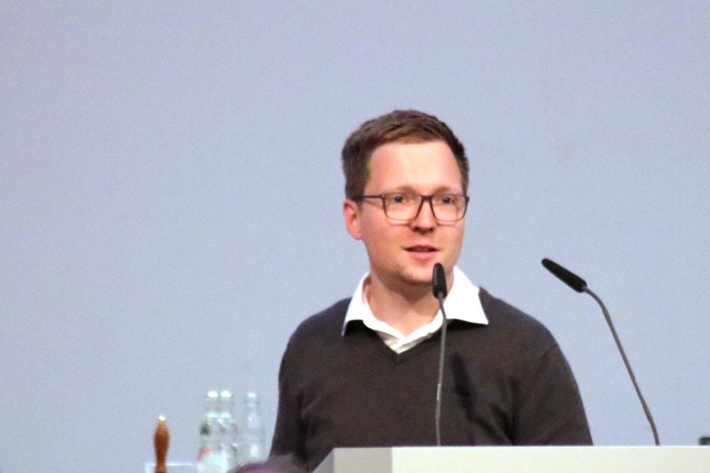 Stadtrat Oliver Gebhardt (Linke). Foto: LZ