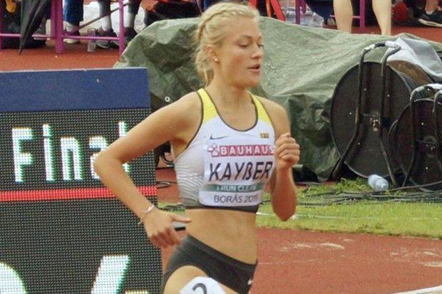 Paulina Kayßer bei der U20-EM 2019 in Schweden. Foto: privat