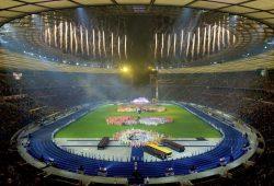 Die Stadiongala, wie hier in Berlin, wird auch 2021 in Leipzig ein absolutes Highlight des Turnfestes sein. Foto: DTB, Volker Minkus