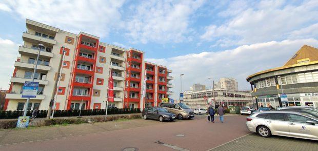 Auch der neue Drogeriemarkt an der Permoserstraße wird nur eingeschossig. Foto: Tim Elschner
